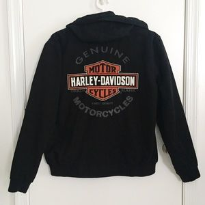 NWT Harley-Davidson Jacket Reversible Embroidered